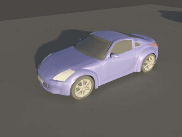 free ma model nissan 350z car