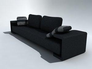 casadesus sofa sillon 3d model