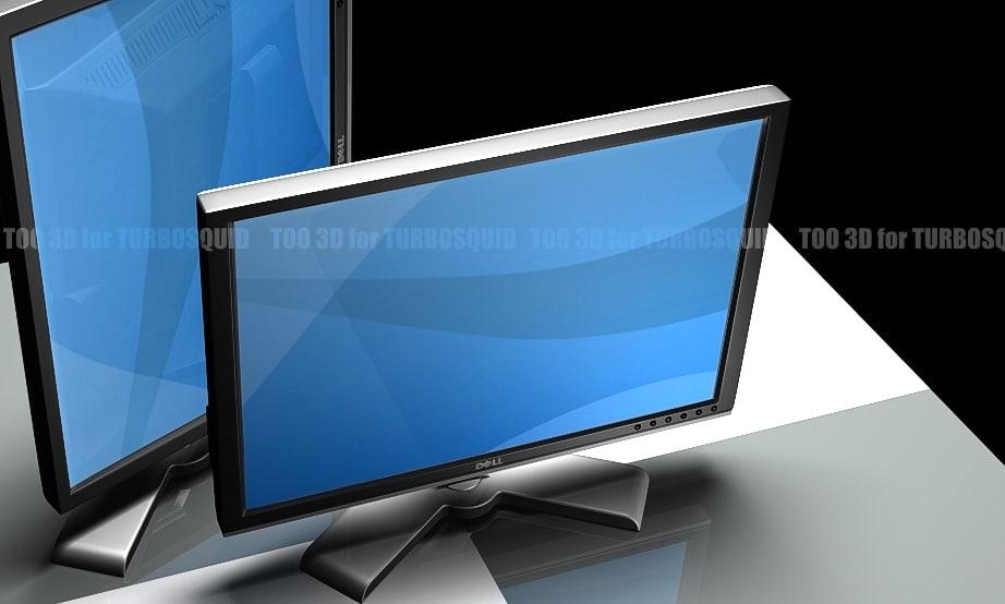 3d monitor dell 20