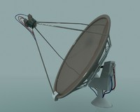 3d max satellite dish