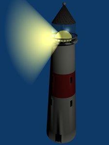 lighthouse blender spot 3d blend