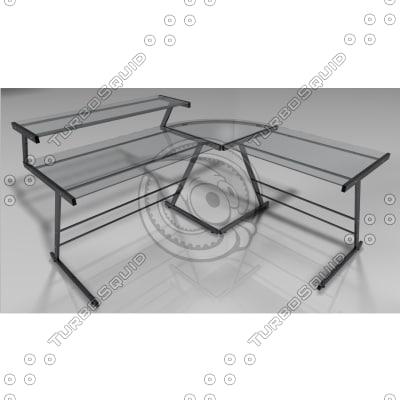3d c4d modern combi-desk
