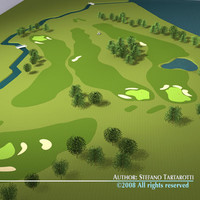 3ds max golf course