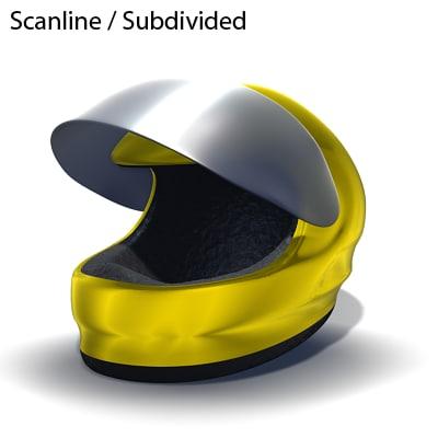 3d f1 racing helmet