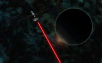 laser satellite 3d model