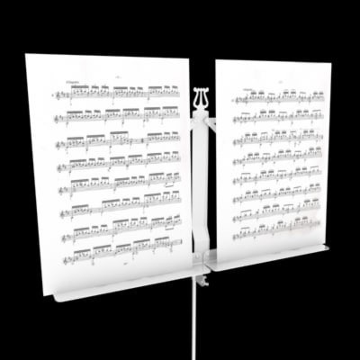 3d max music lectern
