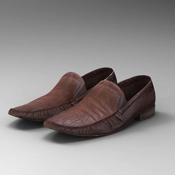 shoes mans 3d model