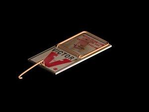 mousetrap trap 3d max