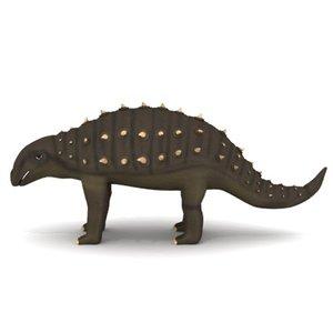 3d model dinosaur panoplosaurus