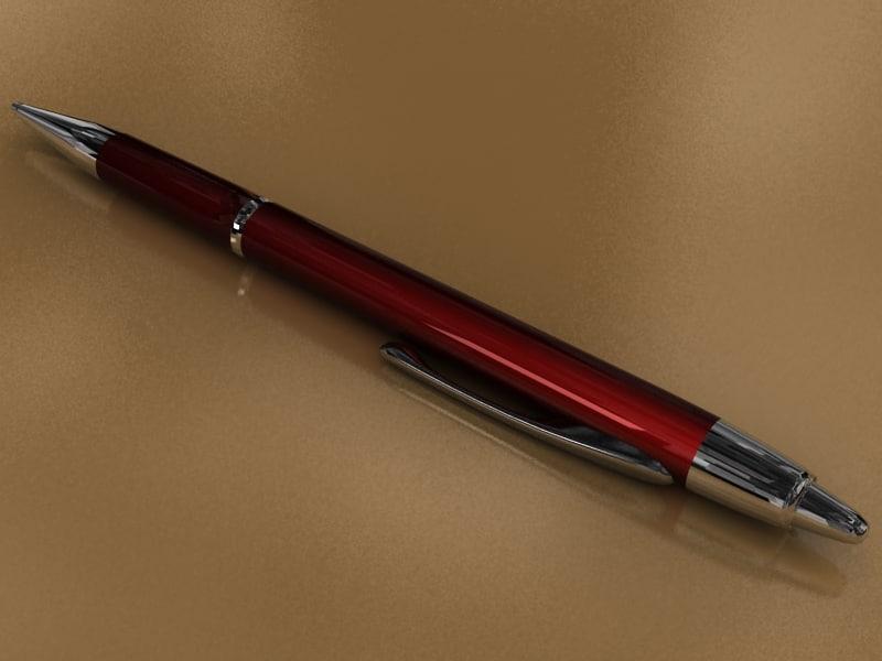 pen 3d max