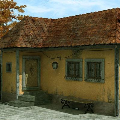 scene old house