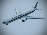 obj b 777-300 singapore