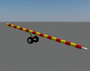3d model tow tractor