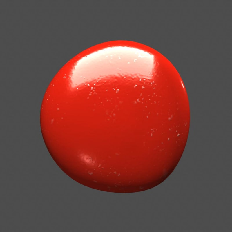 candy shaders 3d model