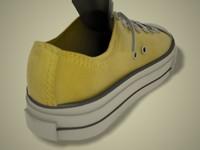 3d shoe converse model