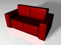 chair sofa 3d c4d