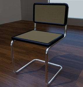 3d model ed chair