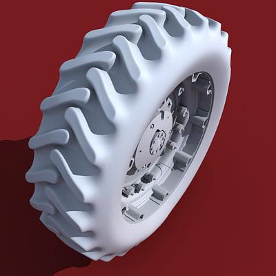 tyre truck 3d 3ds