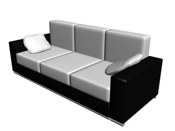 3d divan