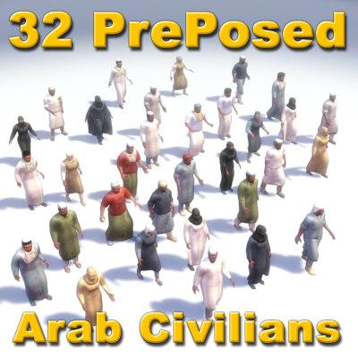 3d model of arab s ians