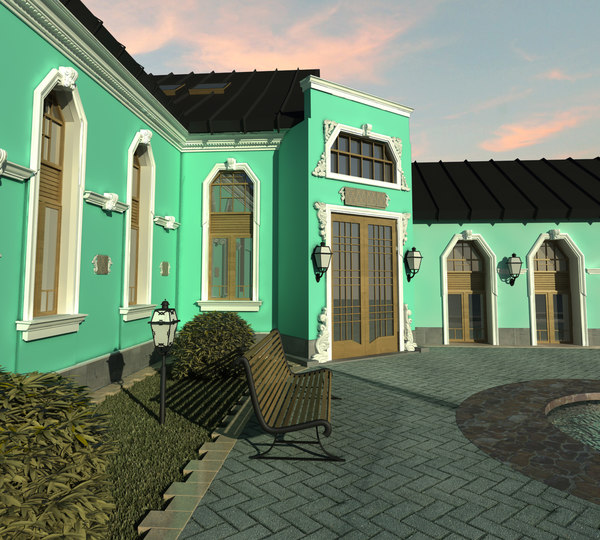 villa exterior max