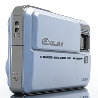 casio exilim ex-v7 photocamera 3d model