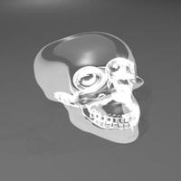3d model crystal skull
