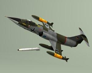 german jet fighter luftwaffe 3d lwo