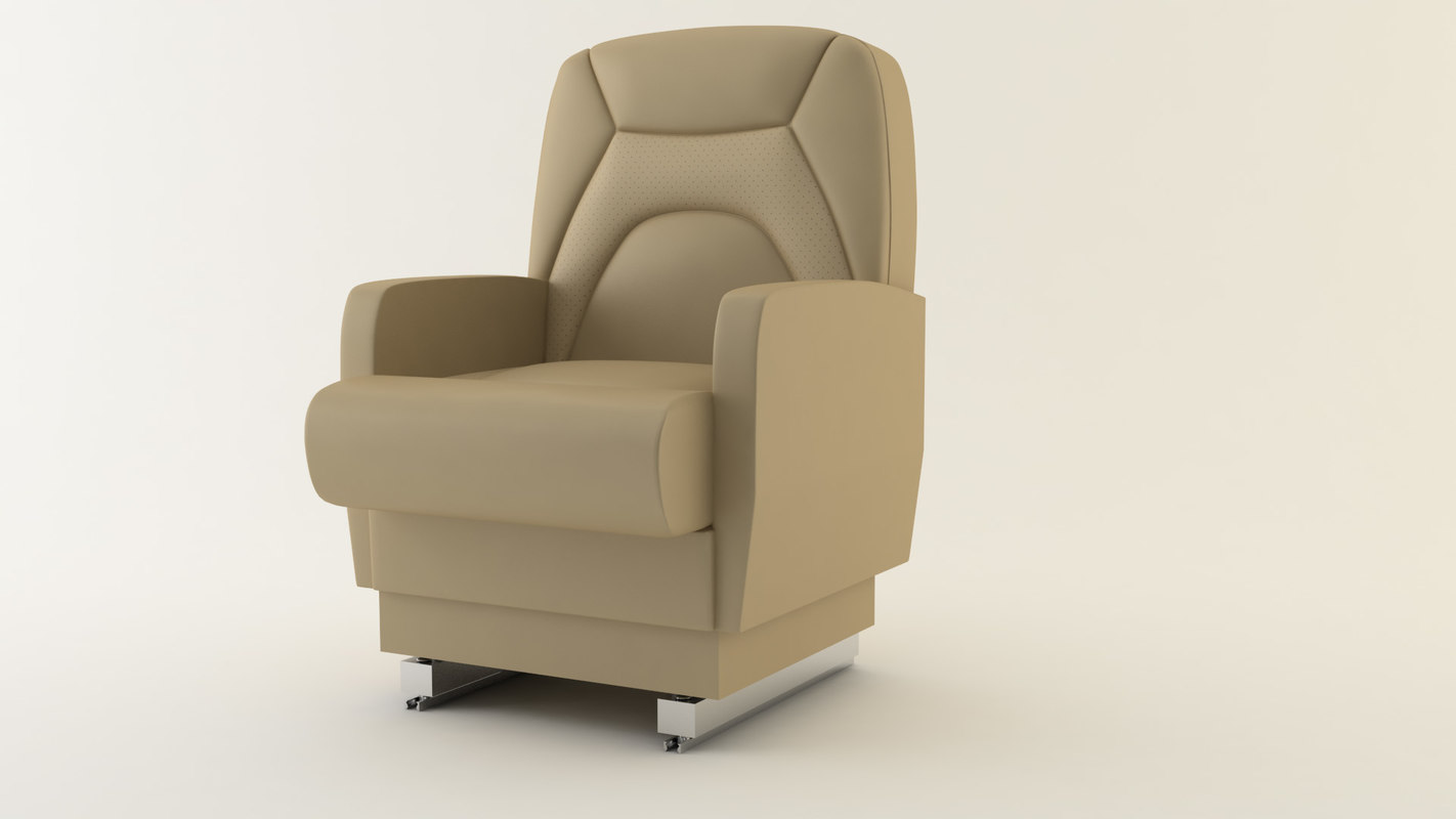 airplane seat 3d model