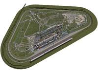 3d max pocono track race