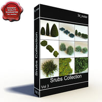 shrubs vol3 3d max