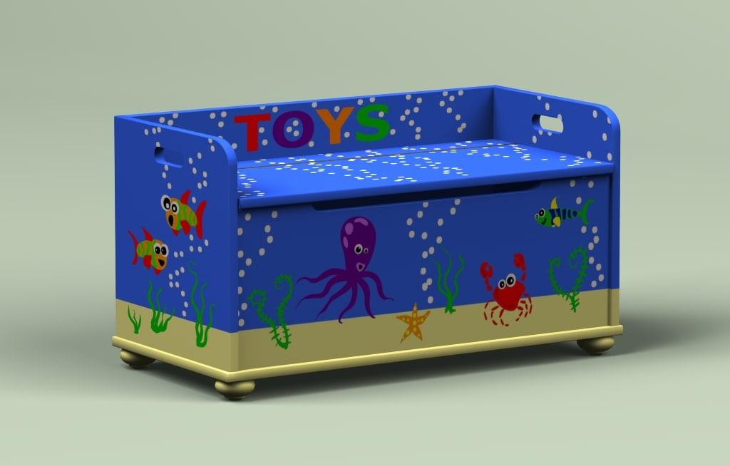 lwo fun toybox toy box