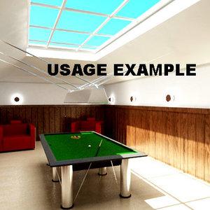 billiards room 3ds