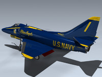 A-4F Skyhawk (Blue Angels)