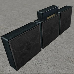 3ds guitar amplifier speakers