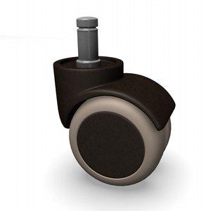 3d model roller castor
