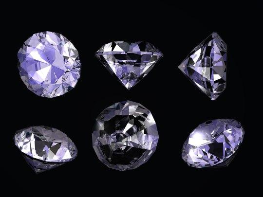 3ds max diamond gem