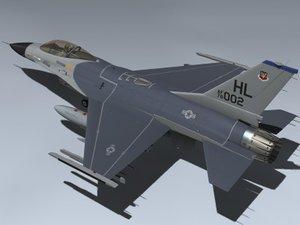 3ds f-16a falcon block 1