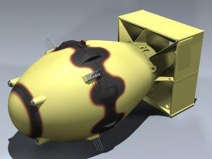 3ds atomic bomb fat man