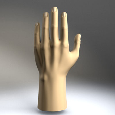3ds max hand materials