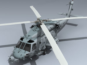 max hh-60h seahawk rescue helicopter