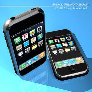 3d c4d apple iphone