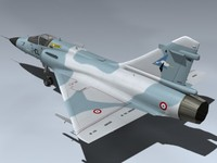 mirage 2000c fighter 3d model