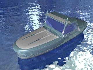 3ds max speedboat racing