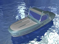 3ds max speedboat racing