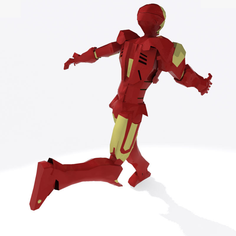 3ds iron man