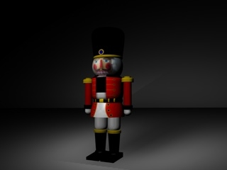 nutcracker nut cracker 3d model