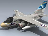 3d model s-3a viking