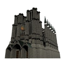 3ds max cathedral
