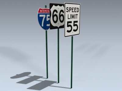 3d signs series 7 model